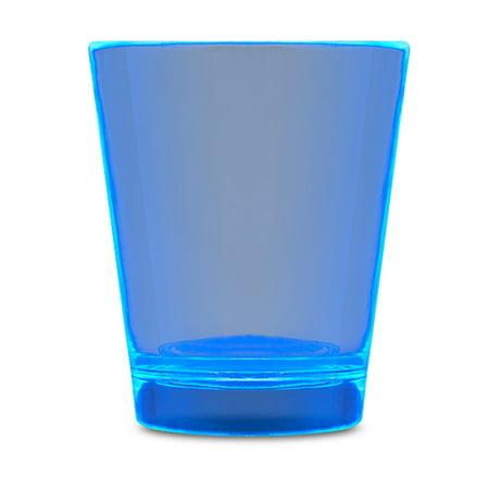 Glow In The Dark Shot Glass Blue Glow Shot Glass