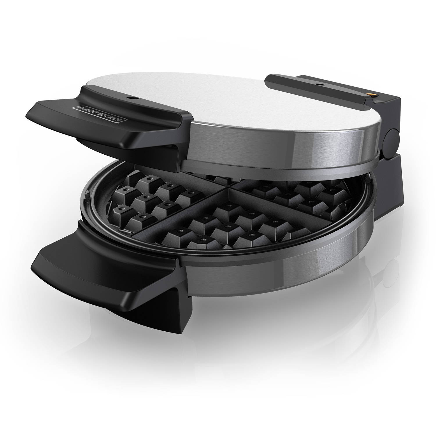 black and decker waffle maker instructions