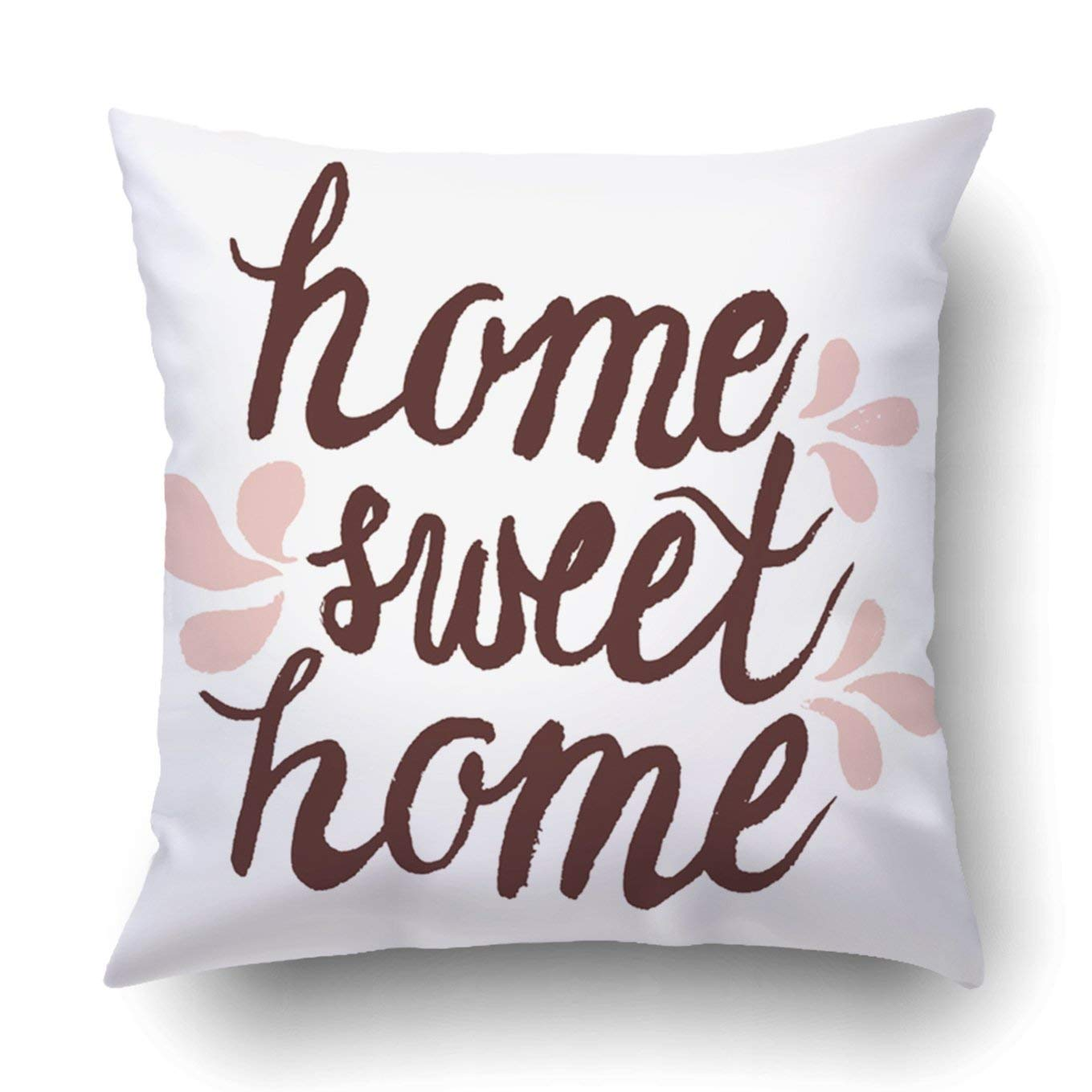 Mainstays Decorative Throw Pillow Home Sweet Home Indoor Outdoor 16 X16 New