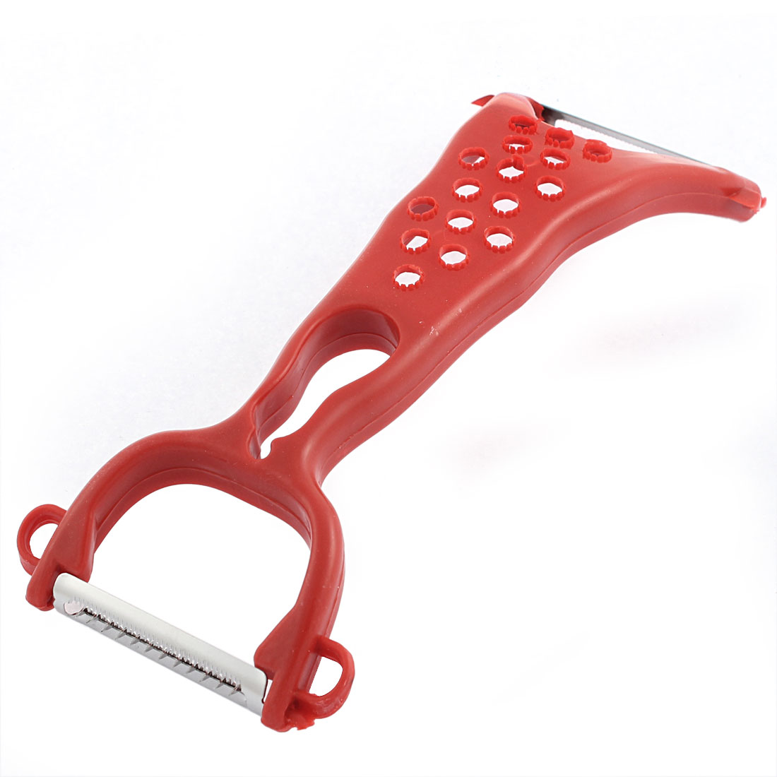 Kitchen Vegetable Fruit Peeler Potato Carrot Slicer Cutter Tool Gadget Red
