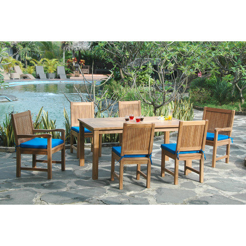 Anderson Teak Montage 7 Piece Dining Set III