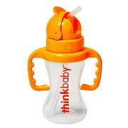 Thinkbaby Thinkster Straw Bottle, 2 Pack, Pink/Orange