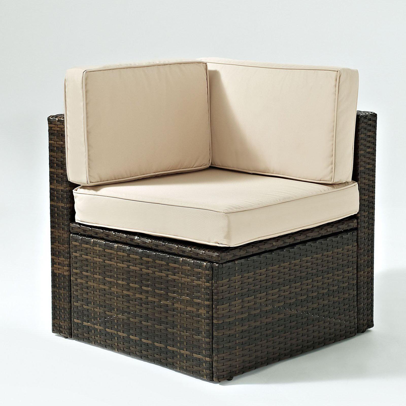 Crosley Furniture Palm Harbor Outdoor Wicker Corner Chair by Generic