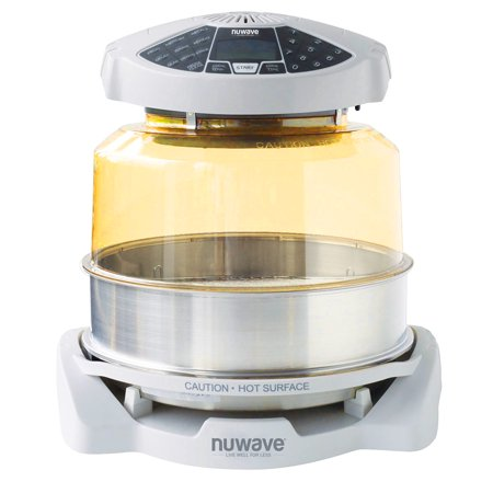 NuWave White Elite Oven with Extender Ring Kit (Nuwave Pro Infrared Oven Best Price)