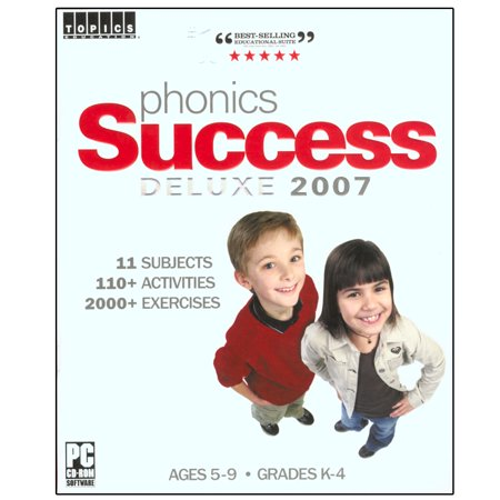 Phonics Success Deluxe 2007 for Windows PC- XSDP -80790 - Addressing all the key phonetic basics, from basic letter recognition to reading comprehension, the Phonics Success Deluxe software suite Chinese Handwriting Recognition Software