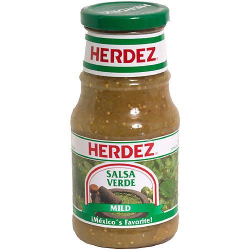 Herdez Verde Salsa, 16 oz (Pack of 12)