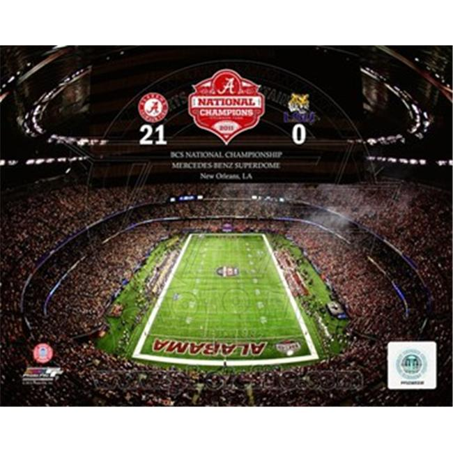 Photofile PFSAAOK17701 The Superdome University of Alabama Crimson Tide 2012 BCS National Champions Poster by Unknown