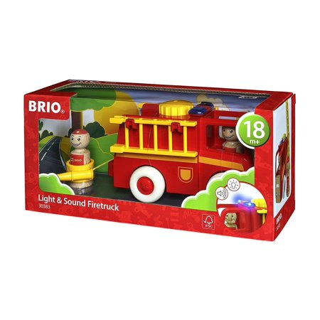 Light & Sound Firetruck - Brio World - Toddler Toy by Brio (30383)