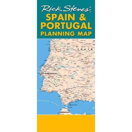 Rick Steves Planning Map Spain Portugal Including Barcelona