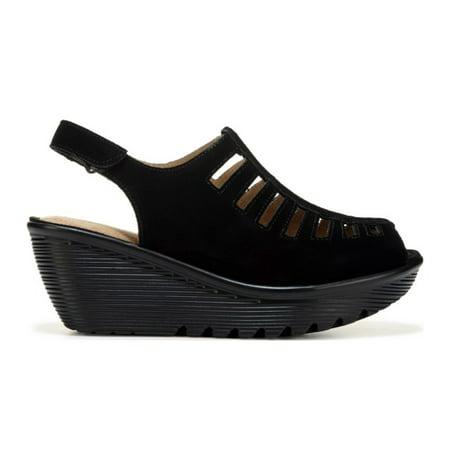 Skechers Women's PARALLEL TRAPEZOID Wedge Sandal