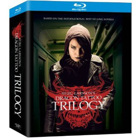 Stieg Larssons Dragon Tattoo Trilogy  The Girl With The Dragon Tattoo   The Girl Who Played With Fire   The Girl Who Kicked The Hornets Nest  Swedish   Blu Ray   Widescreen