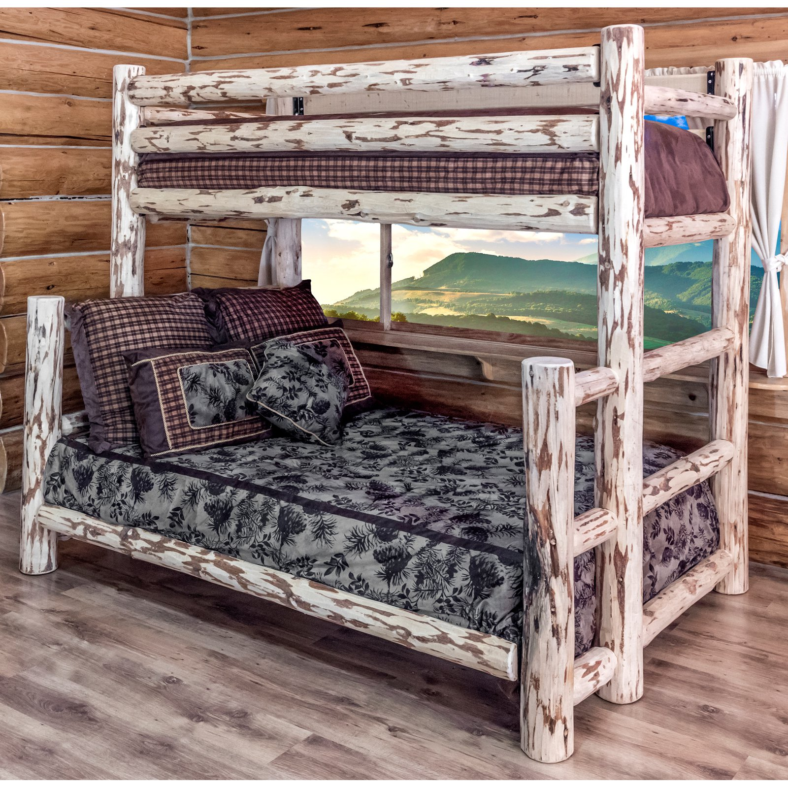 Montana Woodworks Montana Twin Over Full Bunk Bed