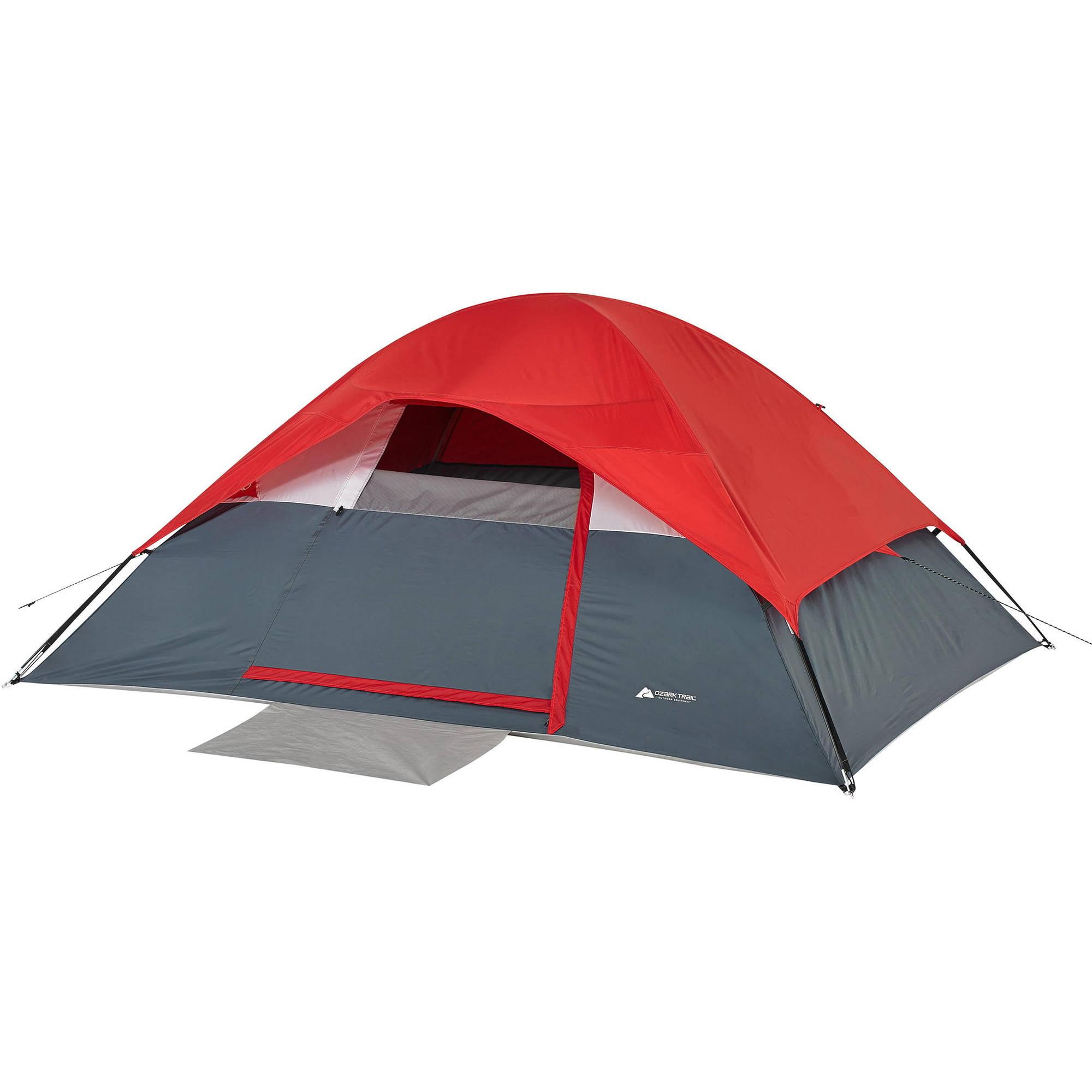Ozark Trail 4-Person Dome Tent - Walmart com