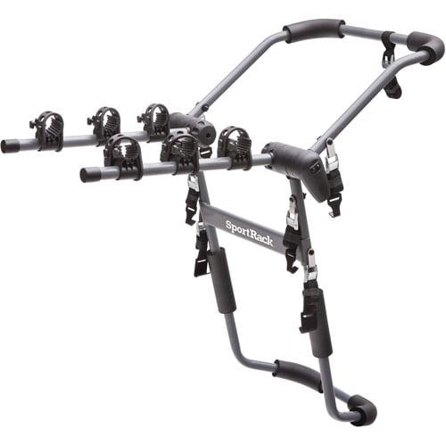 SportRack SR3141 Drafter 3 Rear Mount Bike Carrier, 3-Bikes, Granite Gray