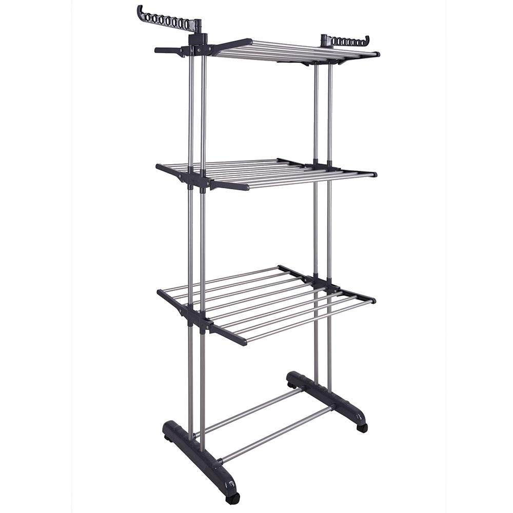 Generic 3 Tier Clothes Dryer Rack Foldable Laundry Drying Hanger