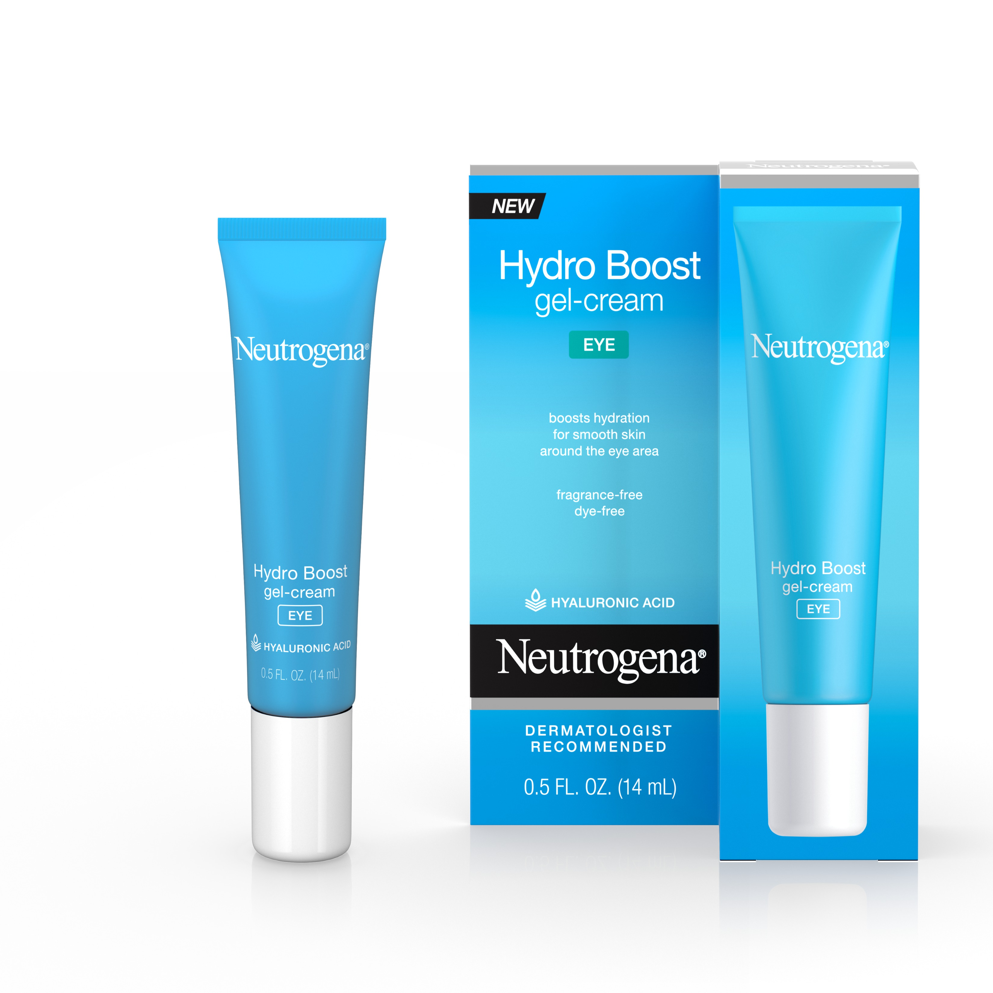 Neutrogena Hydro Boost Hyaluronic Acid Gel Eye Cream, 0.5 fl. oz