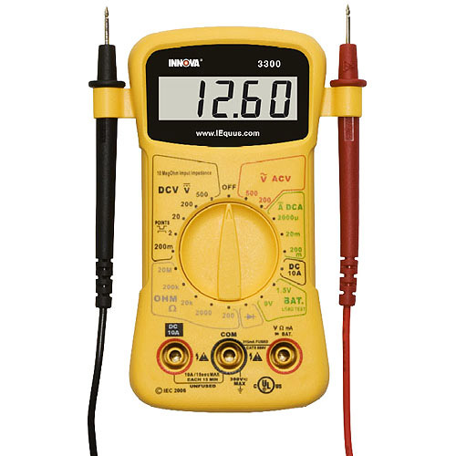 Equus 3300 Hands free Digital Multimeter