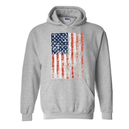 Unisex American Flag Vintage Hoodie Sweatshirt