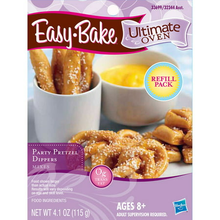 EASY-BAKE Ultimate Oven Party Pretzel Dippers Mixes