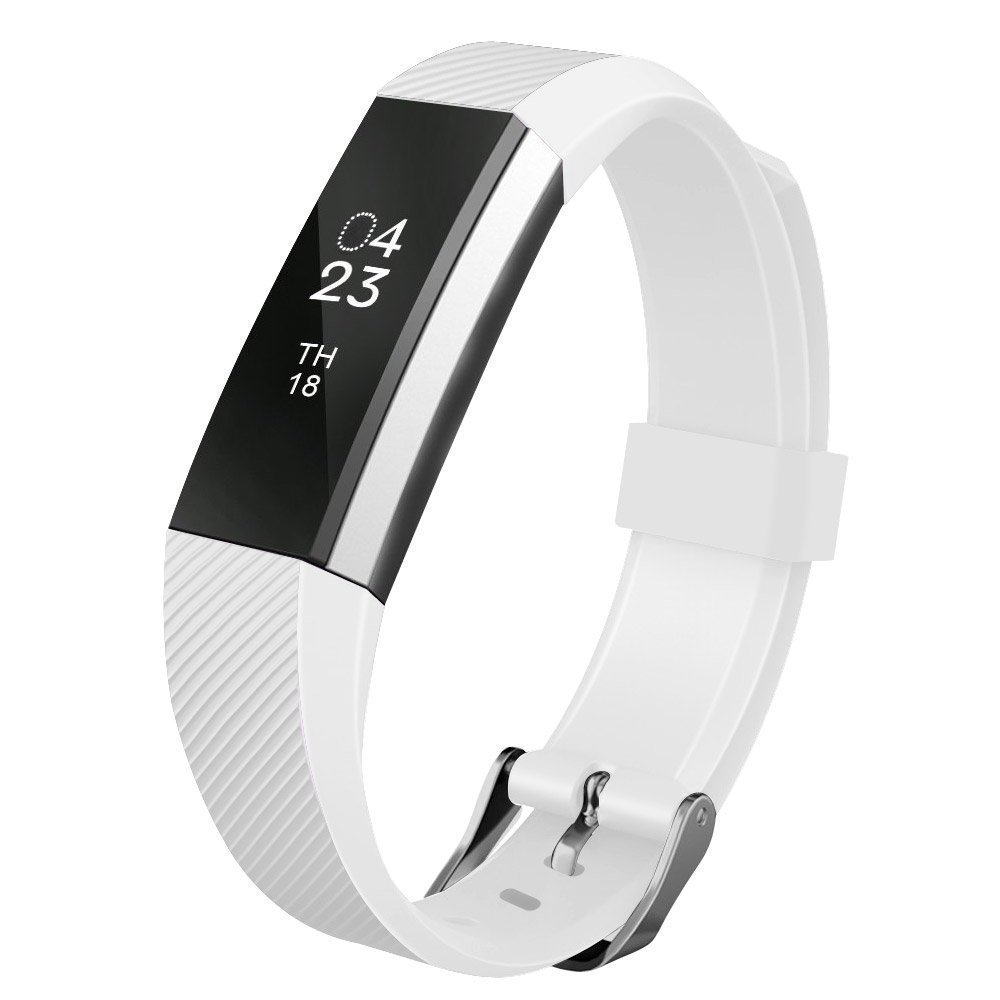 EEEKit Replacement Wrist Band Soft Silicon Strap Clasp Buckle For Fitbit Alta by EEEKit