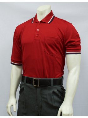f0161ac75 Product Image Smitty Short Sleeve Umpire Shirt, Red Small