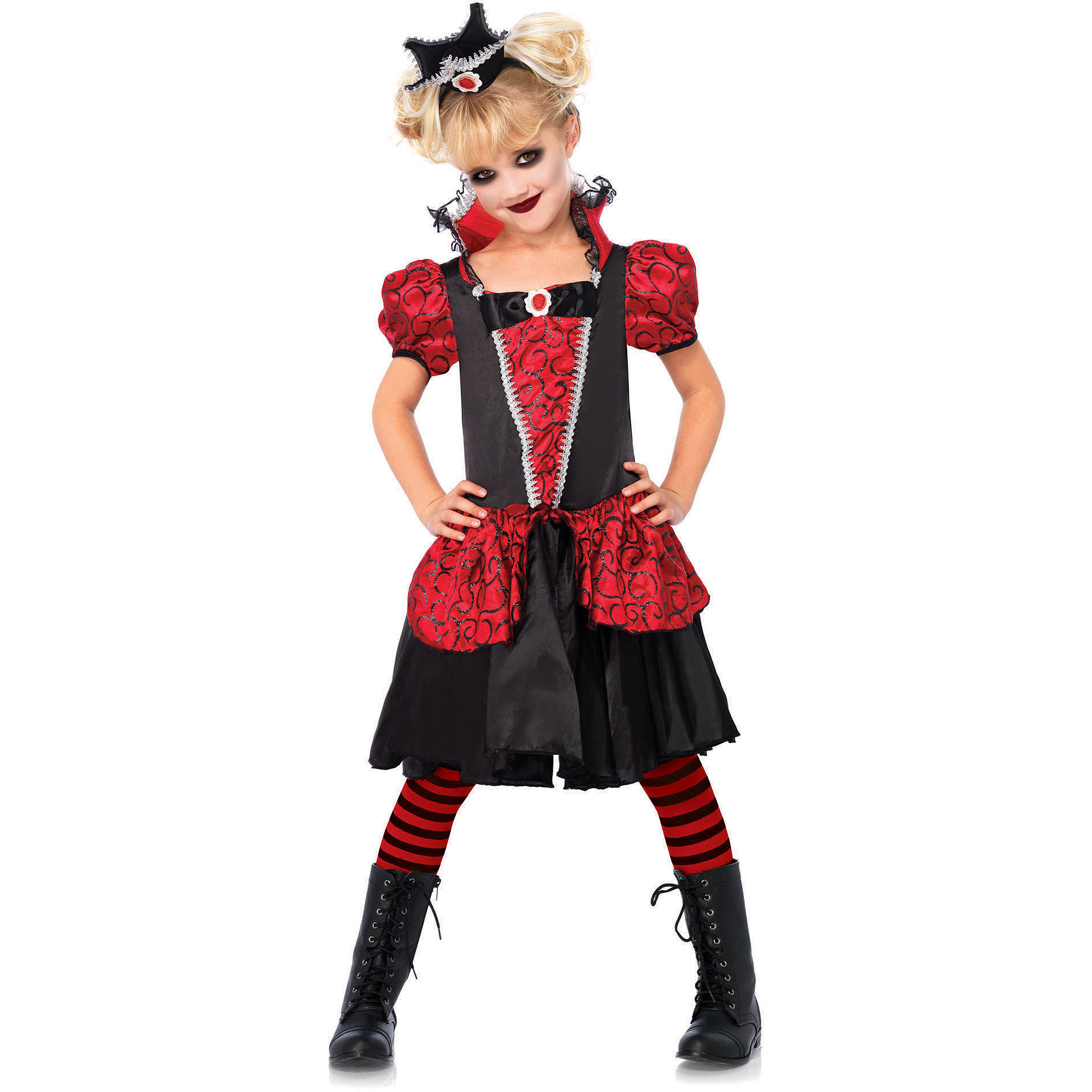 Leg Avenue Vampire Queen Child Halloween Costume, Size M
