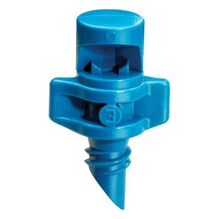 MSQ10PKSX Drip Irrigation Threaded Close Coverage Fan Spray Nozzle, 90° Quarter Circle Pattern, 5' Spray Distance, 10-Pack Rain Bird - Quarter-Circle 90°