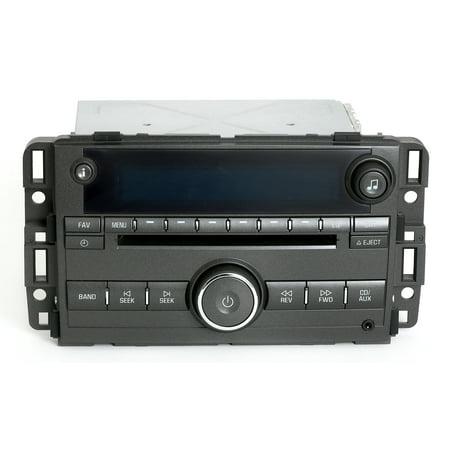 2007 Buick Lucerne AM FM Radio MP3 CD & Aux Input Player Unlocked Part 25776333 - Refurbished 05 Toyota Aux Input