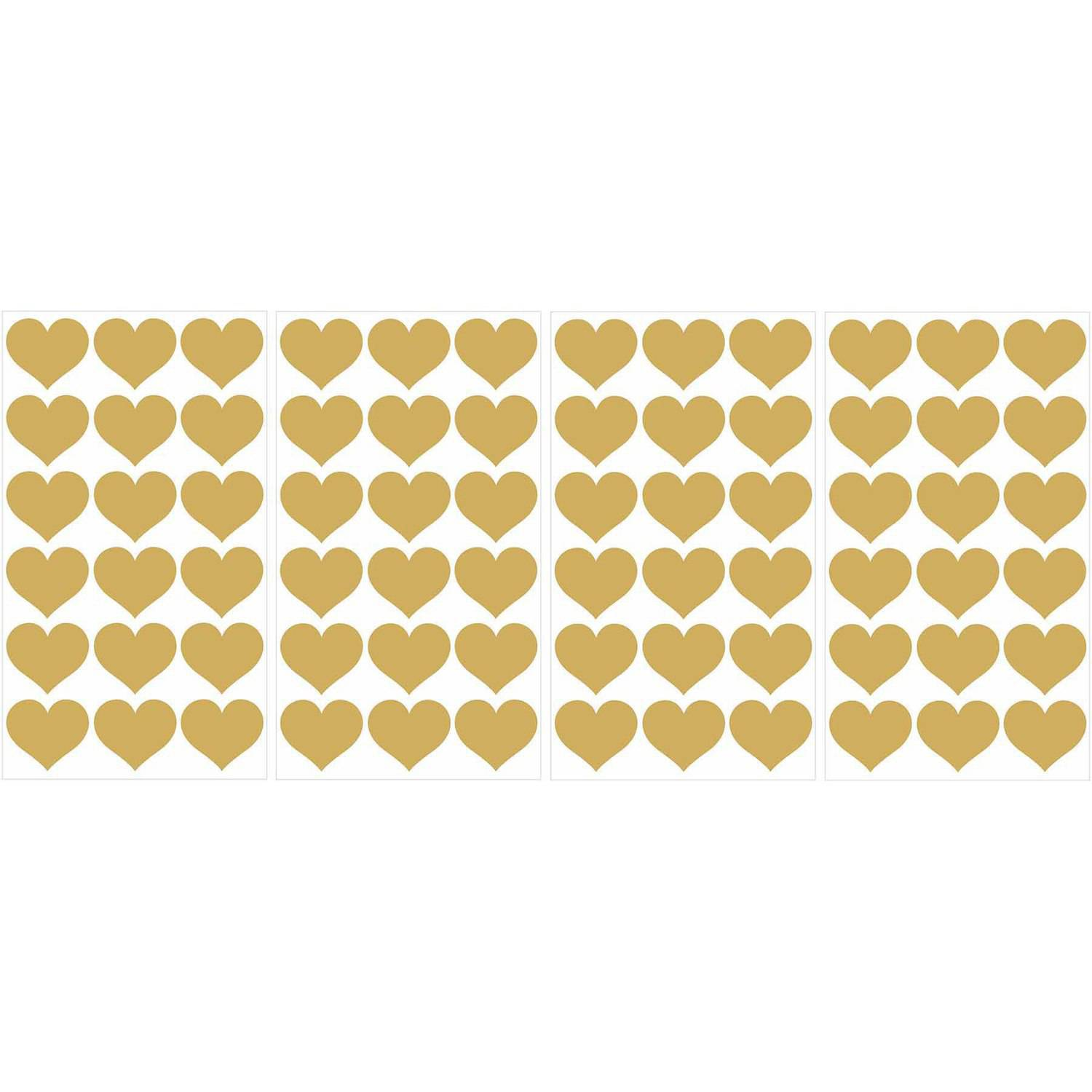 Hearts Mini Pops, Gold