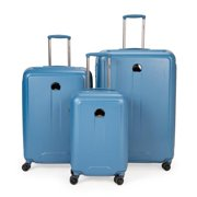Delsey Embleme Carry-on 25 Inch and 30 Inch - Blue 3 Piece Set Spinner