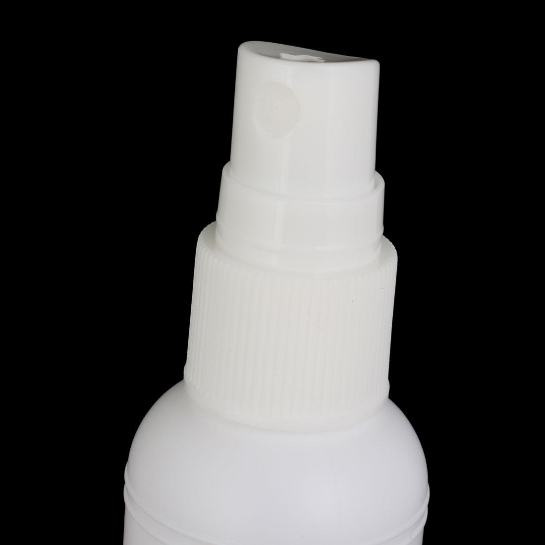 50ml PE Plastic Cylinder Shape DIY Water Spray Bottle White 2pcs - image 2 of 4