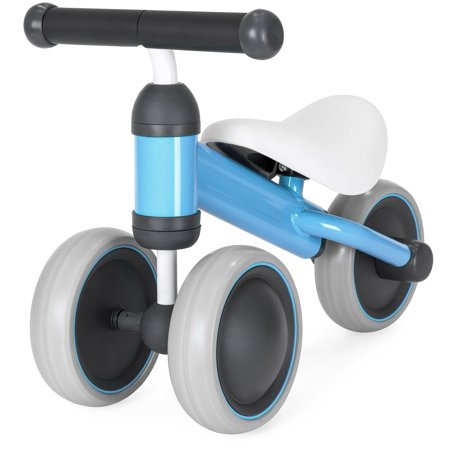 Best Choice Products Kids Lightweight Balance Walking Training Tricycle for Toddlers w/ Cushioned Seat, Hand Grips