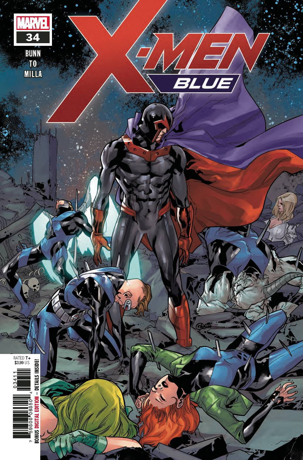 Marvel X-Men Blue #34 by