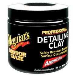 Meguiar's Mirror Glaze Detailing Clay, Aggressive – Remove Defects & Restore a Glassy Finish – C2100