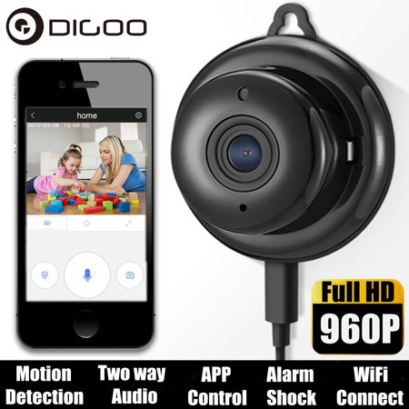 Digoo DG-M1Q 960P Smart IP Camera,Baby Carer Monitor,Night
