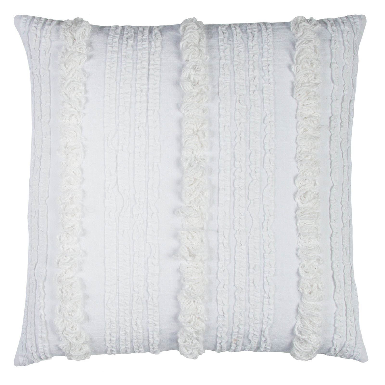 Rizzy Home Vertical deconstructed Stripe20X20Cottondecorative filled pillow