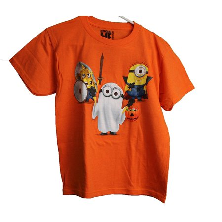 Despicable Me Minions Trick or Treat Youth T-Shirt (Small 8)](Despicable Me Female Minion)