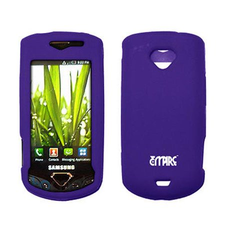 EMPIRE Purple Silicone Skin Cover Case for Samsung Gem i100