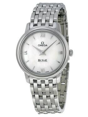 De Ville Prestige Mother of Pearl Dial Stainless Steel Ladies Watch 424.10.27.60.05.001