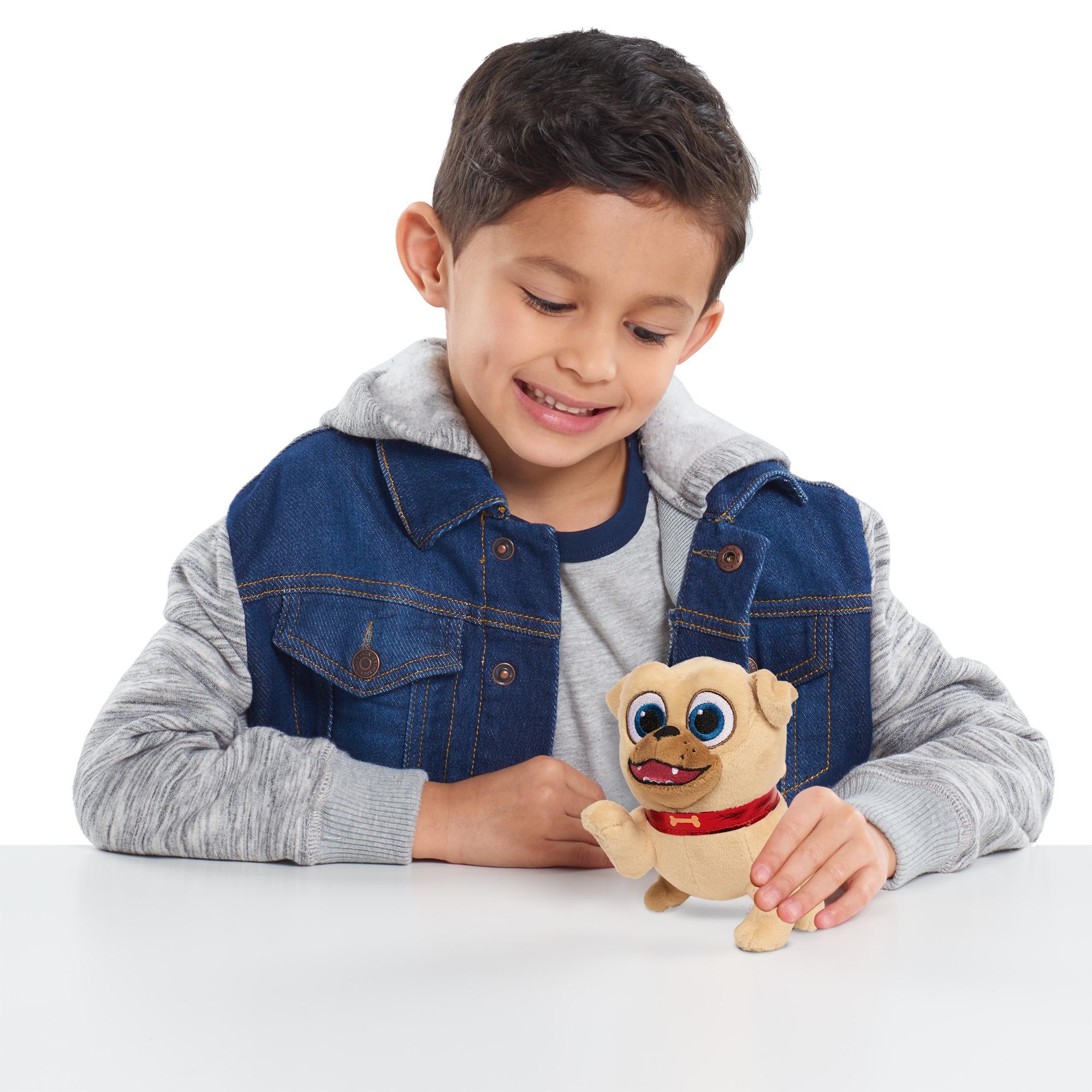 Puppy Dog Pals Bean Plush Rolly Walmart Com