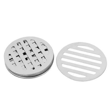 Stainless Steel Round Sink Floor Drain Strainer Cover 3