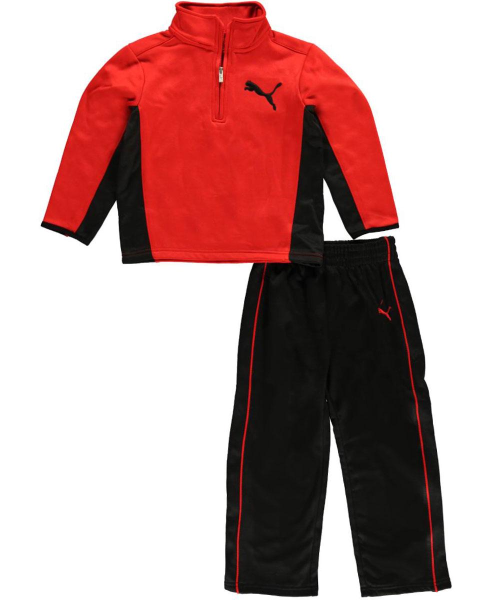 "Puma Little Boys' ""Bring Heat"" 2-Piece Outfit (Sizes 4 - 7)"