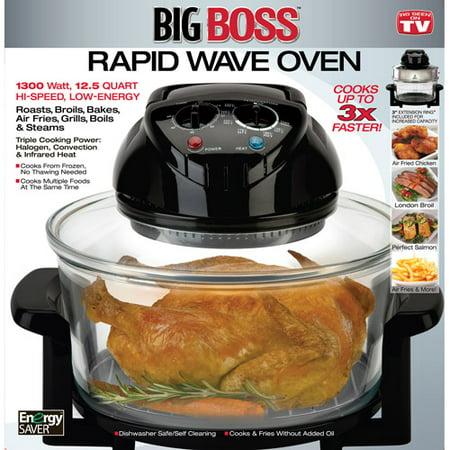 As Seen on TV Big Boss Rapid Wave Oven - Walmart.com