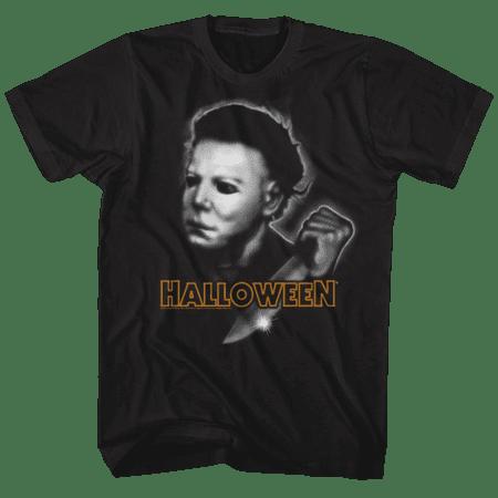 Halloween Airbrush (Halloween Airbrush Black Adult T-Shirt)