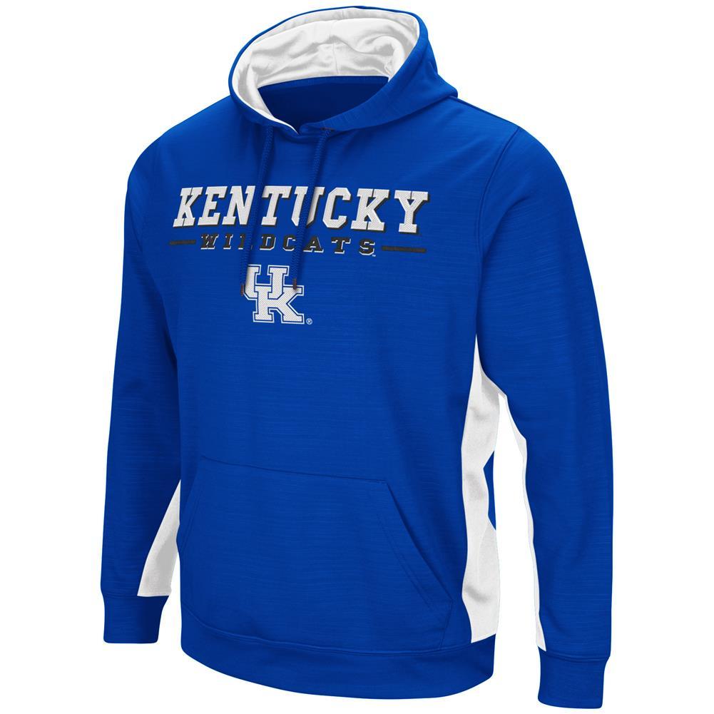 Kentucky Wildcats UK Hoodie Performance Fleece Pullover Jacket by Colosseum