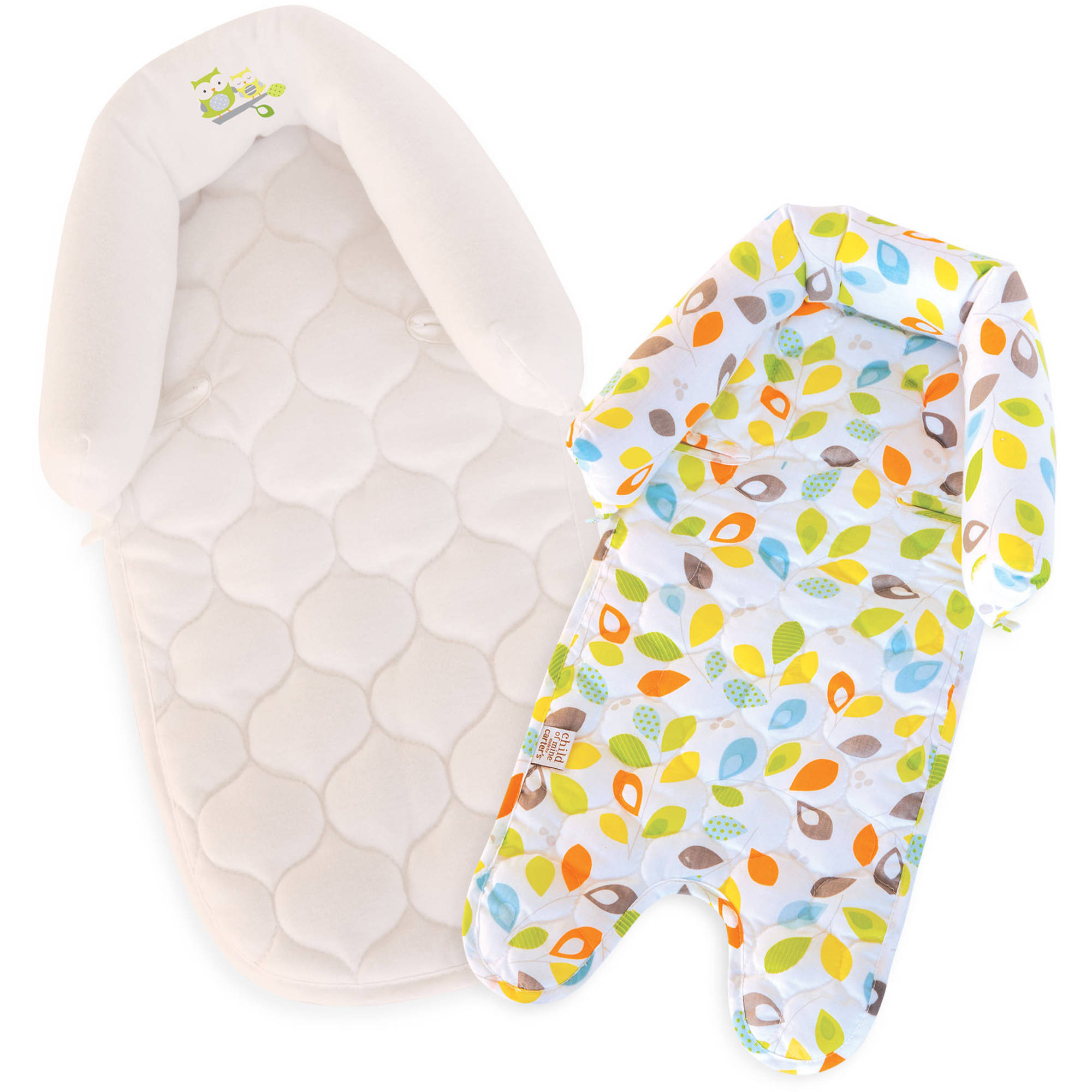 Child Of Mine Leaf Duo Head Support, Multi-Color