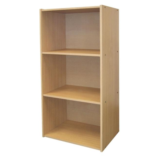 Ore International JW 190 3 Level Bookshelf