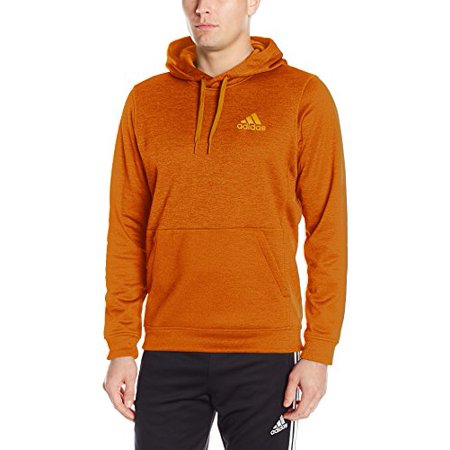 quality design 51534 4e638 adidas - New (Size Small) Adidas Men s Team Issue Fleece Pullover Hoodie  Bold Orange - Walmart.com