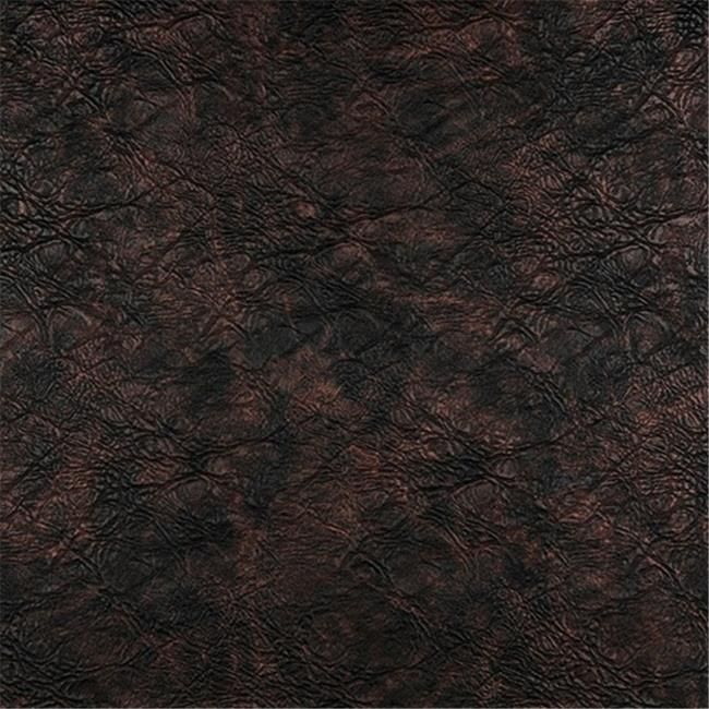 Designer Fabrics G385 54 in. Wide Bronze, Metallic Leather Grain Upholstery Faux Leather