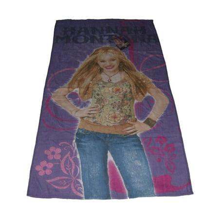 Hannah Montana Cotton Beach Towel Rock Star Miley Cyrus
